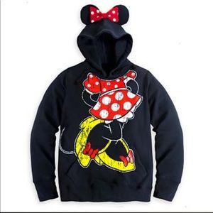 Minnie Mouse ear hoodie